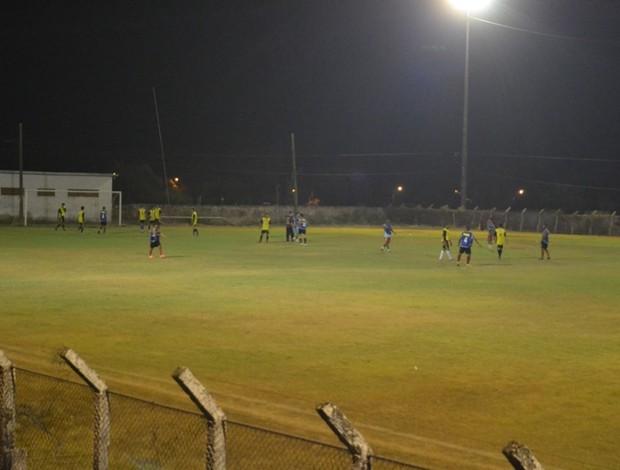 Clube Atlético Pimentense faz amistoso como preparação para disputar Segundona (Foto: Paula Casagrande/GLOBOESPORTE.COM)