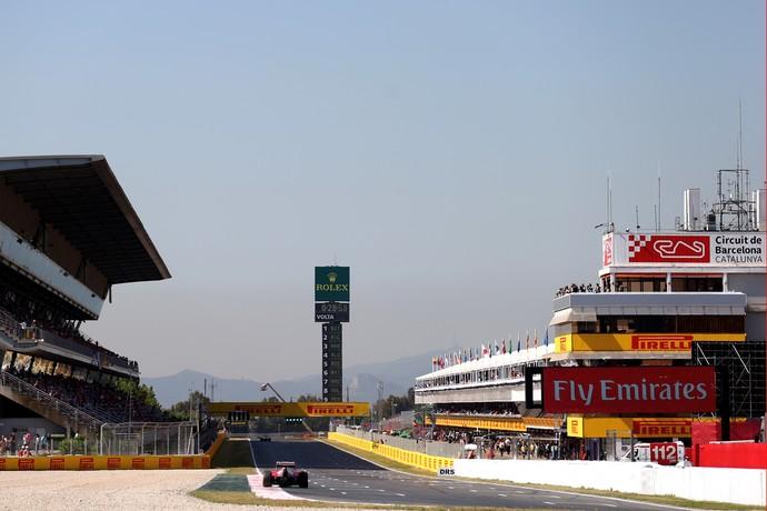 Circuito de Barcelona-Catalunha (Foto: Getty Images)
