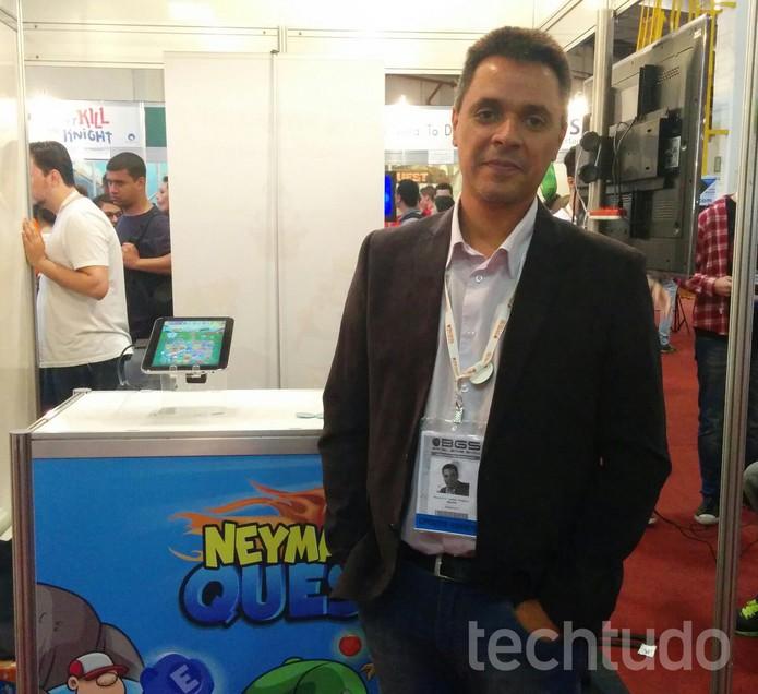 Maurício Alegretti, vice-presidente de  games da Smyowl (Foto: Elusa Costa/ TechTudo)