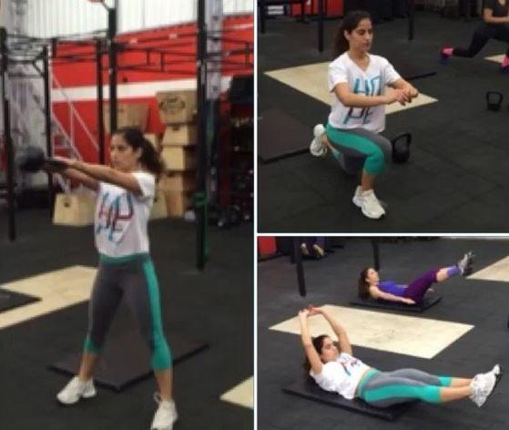 Camilla Camargo perde 4 kg só com exercícios  (Foto: Reprodução do Instagram)