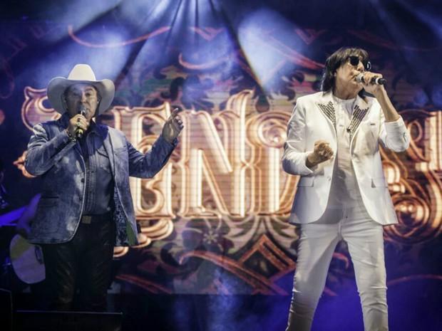 Milionário & Marciano fazem o show Lendas, em Barretos, SP (Foto: Divulgação)