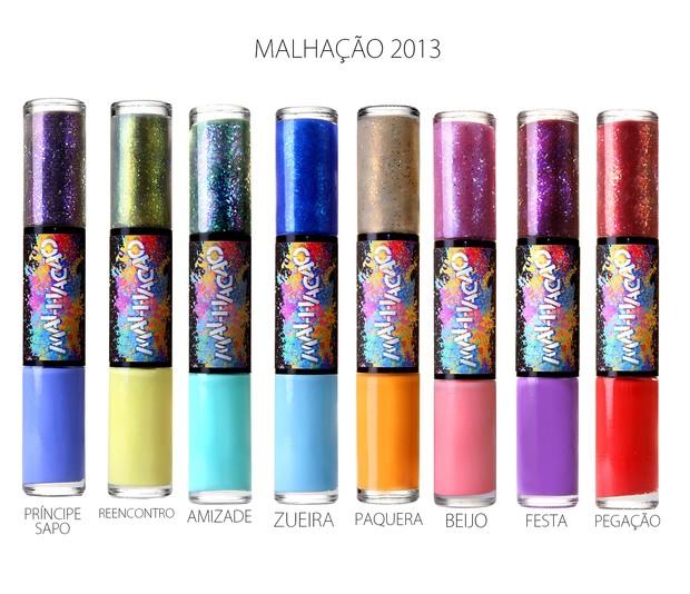 Esmaltes de Malhação (Foto: divulgação)