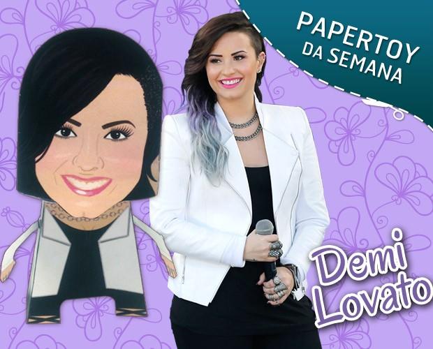 Demi Lovato (Foto: Arte: Andressa Xavier)