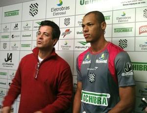 Anderson Conceição, Figueirense (Foto: Ronaldo Nascimento / Site do Figueirense)