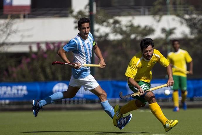 Brasil x Argentina hóquei na Grama Sul-Americano (Foto: Divulgação/Odesur)