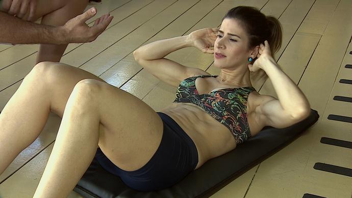 'Combinado' dá dicas de como deixar a barriguinha chapada (Foto: TV Sergipe)