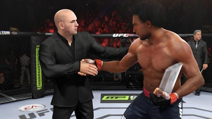 Vença a final do TUF para ir para o UFC (Foto: Reprodução/Thiago Barros)
