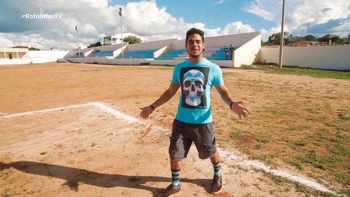 Leo Souza no 'Rota' em Cerro Corá (Foto: Divulgação)
