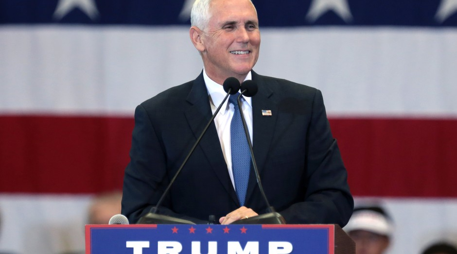 Mike Pence, vice-presidente dos EUA (Foto: Wikicommons)