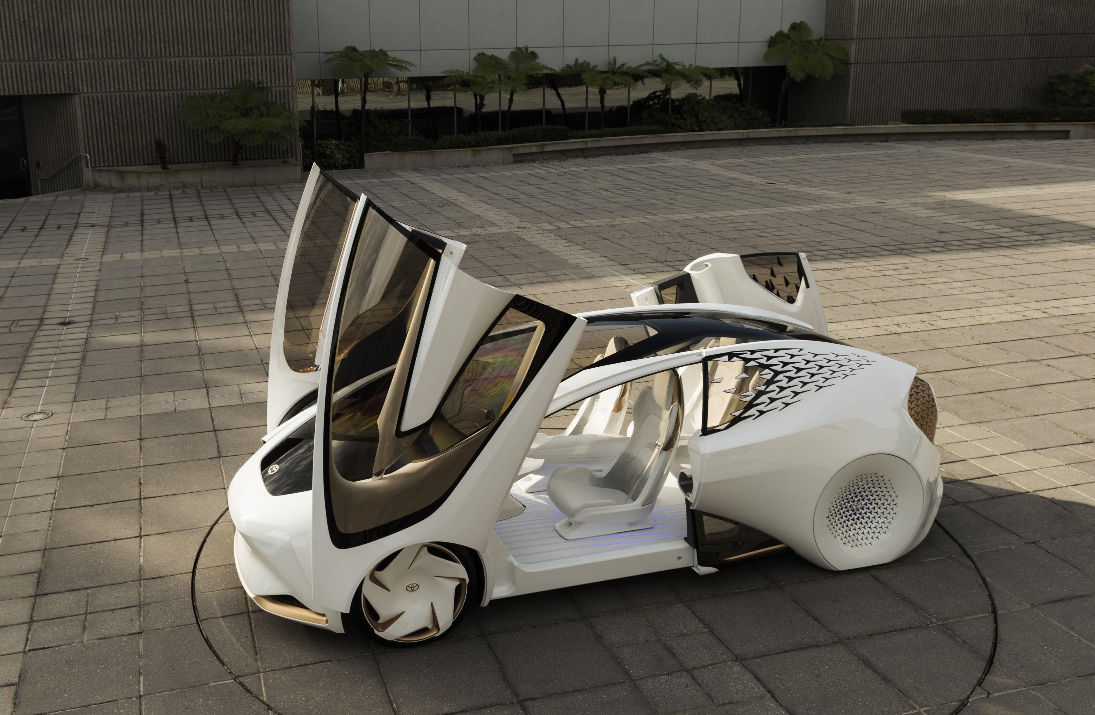 Toyota Concept-i (Foto: Divulgação)