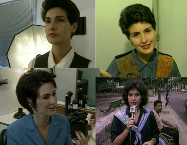 Fátima Bernardes em diferentes fases (Foto: TV Globo)