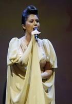 Maria Rita capricha no topete para se apresentar em Belo Horizonte