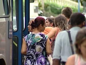 Uberaba ônibus gratuidade (Foto: Reprodução / TV Integração)