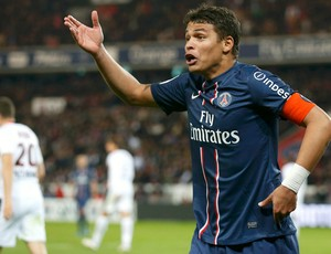Thiago Silva Paris Saint-Germain (Foto: Reuters)