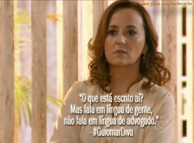 Guiomar (Foto: Flor do Caribe/TV Globo)