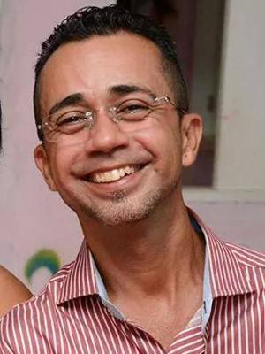 Professor Airton Gomes Teixeira, de 39 anos, levou 12 tiros em Macaíba (Foto: Arquivo pessoal)