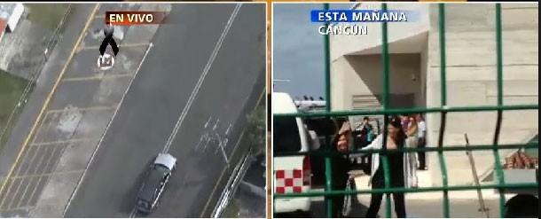 Cortejo fúnebre  (Foto: Reprodução/Televisa)