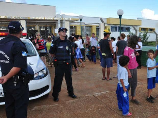 Segundo a prefeitura, a Guarda Municipal vai intensificar as rondas nas escolas (Foto: Divulgação/Prefeitura de Ponta Grossa)