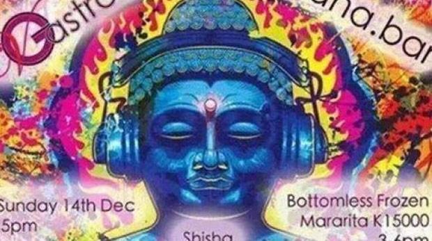 Phil Blackwood usou imagem psicodélica de Buda para promover bebida (Foto: Reprodução/Facebook)