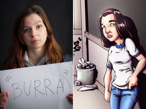Vanessa Bencz sofreu bullying por causa de TDAH e escreveu um livro em HQ para tratar o tema (Foto: Arquivo pessoal/Vanessa Bencz)