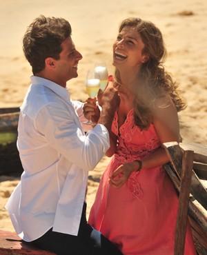 Ester e Cassiano (Foto: João Miguel Jr./ TV Globo)