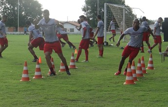 Fabinho, Rogério e Bruno Lopes voltam aos treinos físicos no River-PI