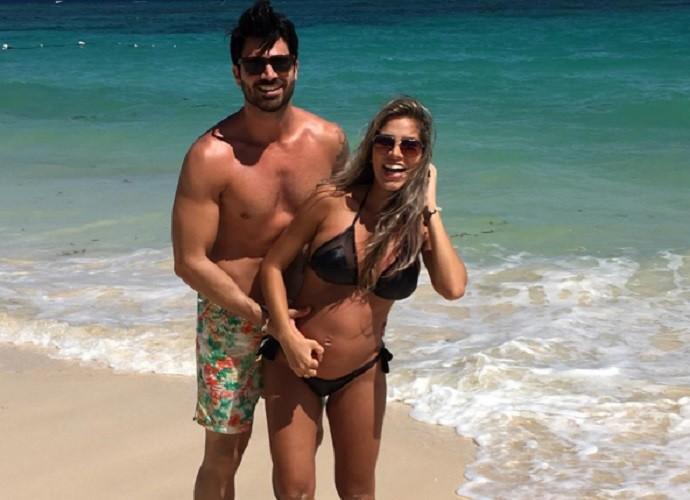 Adriana e Rodrigão se conheceram no BBB 11 e esperam seu primeiro filho (Foto: Arquivo Pessoal)