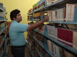 Nos últimos 20 meses, a Fundação Tancredo Neves inaugurou 20 novas bibliotecas públicas no Estado, contando com uma no centro de Bujaru. (Foto: Alessandra Serrão/Ag. Pará )