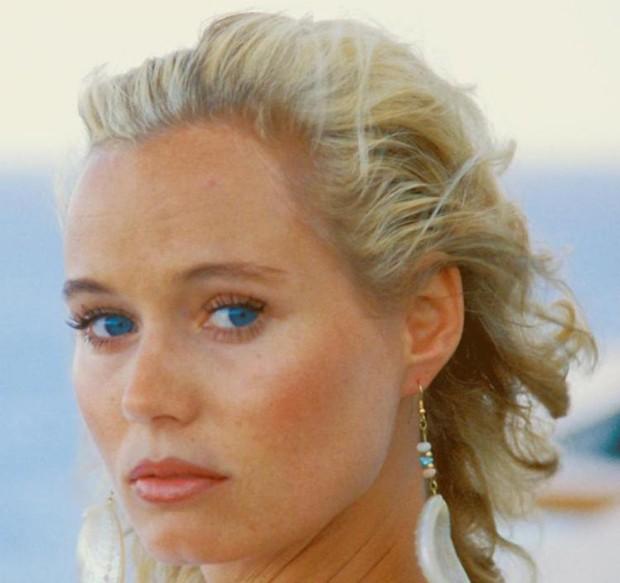 A atriz Renate Langer quando jovem (Foto: Reprodução)