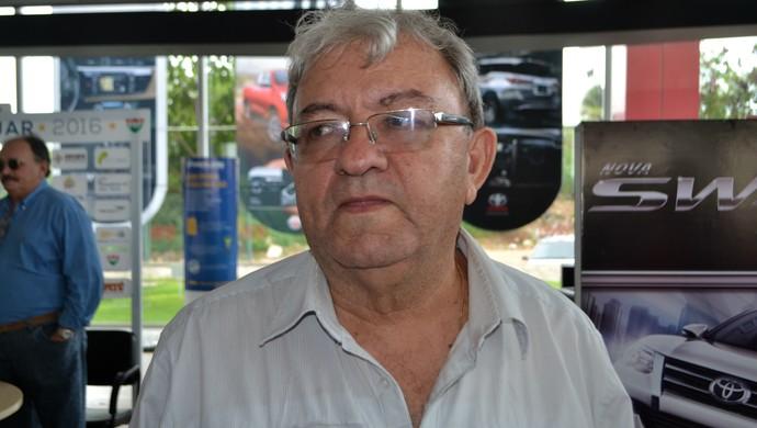 Judas Tadeu, presidente do ABC (Foto: Jocaff Souza/GloboEsporte.com)