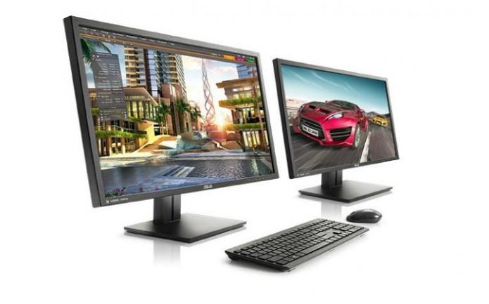 Monitor da Asus permite conectar dois computadores ao mesmo tempo (foto: Reprodução/Asus)
