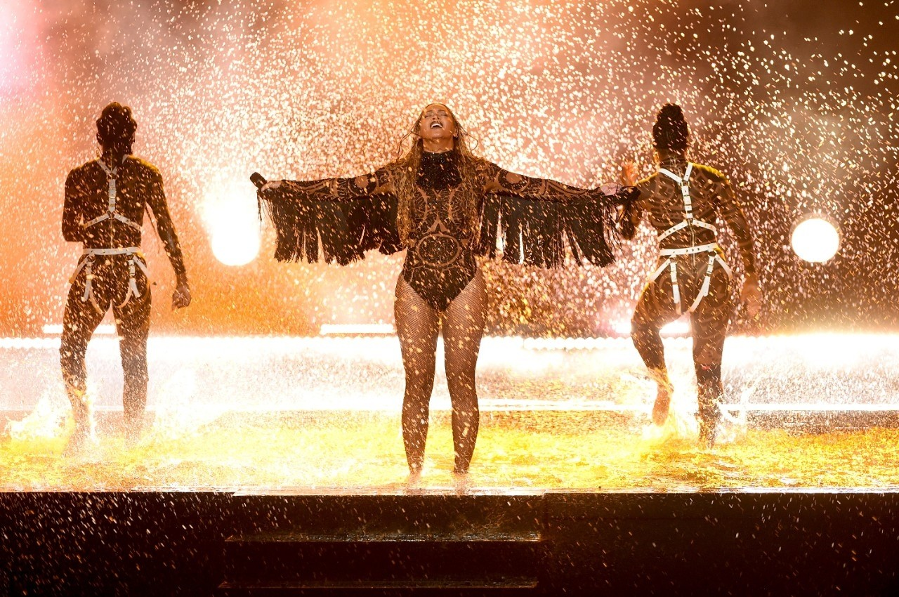 Beyonc leva 'Freedom' a outro nvel no BET Awards (Foto: Kevin Winter/BET/Getty Images for BET)