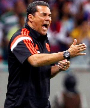 Bahia x Flamengo - Luxemburgo (Foto: Agência Estado)