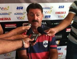 Leandro Campos técnico do ASA (Foto: Divulgação/ASA)