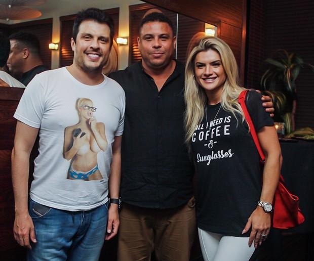 Ceará, Mirella Santos e Ronaldo (Foto: Leo Mayrink/Brazil News Internacional)