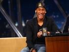 Sem falar de Marquezine, Neymar grava 'Programa do Jô'