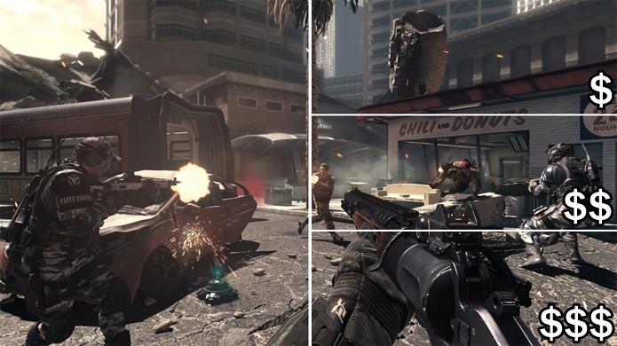 Estenda sua experiência em Call of Duty: Ghosts com DLCs trazendo novos conteúdos (Foto: Reprodução / Rafael Monteiro)
