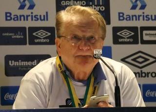 Adalberto Preis vice de futebol Grêmio (Foto: Eduardo Deconto / GloboEsporte.com)