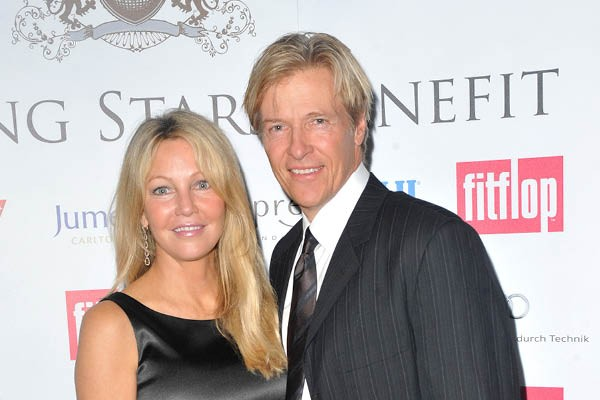 Heather Locklear e Jack Wagner (Foto: Getty Images)