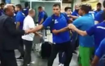Imagens mostram confusão em aeroporto; em nota, Cruzeiro lamenta