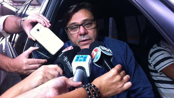 Eduardo Rocha ex-presidente do América-RN (Foto: Augusto Gomes/GloboEsporte.com)