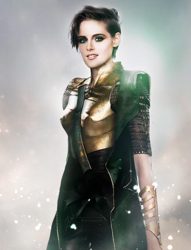 Loki, por Kristen Stewart (Foto: Ágnes Domokos/disimilis.tumblr.com)