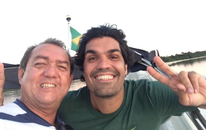 Fernandão Antônio de Pádua na véspera do acidente  (Foto: Arquivo Pessoal)