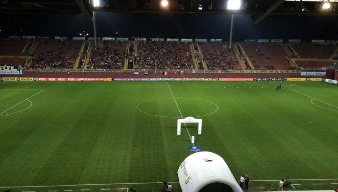 Joinville x Flamengo - Arena Joinville  (Foto: Ivan Raupp/ GloboEsporte.com)