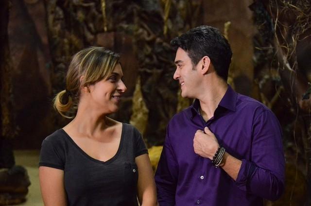 Júlia Rabello e Marcos Veras são os entrevistados do 'Preview', do Telecine Pipoca' (Foto: Kiko Cabral)