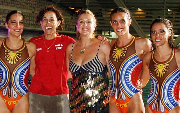 Anna Tarrés ex-técnica  nado sincronizado Espanha (Foto: Getty Images)