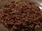 Paçoca pantaneira é servida no café da manhã dos boiadeiros de MS