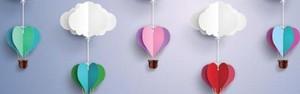 Origamis dão graça e charme à decoração (Shutterstock)