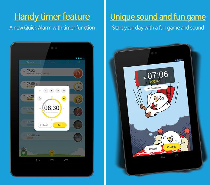 AlarmMon é um app que mistura despertador e game (Foto: Divulgação/AlarmMon)