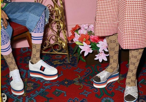 Campanha da Gucci em 2017 (Foto: Reprodução)